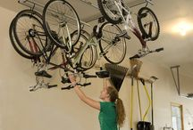 Garage and Bike storage