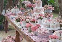 mesa de bolo noiva