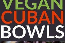 Vegan Cuban Bowls Salat