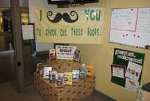ETC Teen Displays / Here are pictures of the displays that we have created for the East Teen Center!