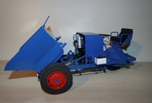 3-Wheel Model Tractor / My collection of three weeled tractor models und cars
