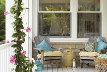 home: porch / by Kim Larson
