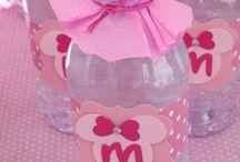 decoracion botella de agua