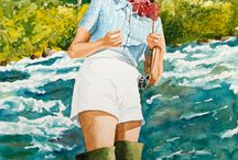 Fly fishing / by Cindy Gowen