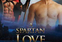 Kayla Jameth, A Spartan Love / Gay Historical Romance. Spartan, Helot, Series.