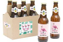 Flamingo bottles