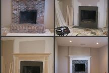 Fam Rm & Fireplace Remodel / by Cathy Kizerian