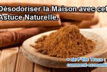 Désodorisants Faits-Maison / Les meilleures recettes de désodorisants 100% naturels pour parfumer votre maison et combattre les mauvaises odeurs.