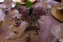 Tablescapes / by Hawthorn, A Bed and Breakfast