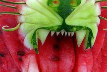 Veggie and Fruit Art