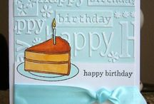 Emboss birthday cards