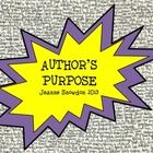 Author's Purpose / by Cindy Lou's 1st Grade Whos
