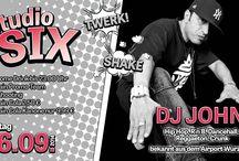 Sudio Six - HIP HOP Veranstaltungen / Hip Hop und RnB im Studio Six des QSIX Burgkunstadt - http://q-six.de/events/