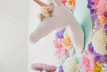 Unicorn Rainbow 80's party!