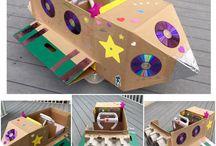 Cardboard creations