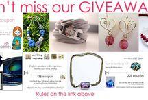 Giveaway April, 1st-15th 2014 / by Anne Londez
