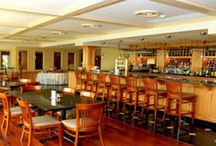 The Lounge / Stop in any afternoon or evening to gather with business associates and friends to enjoy the atmosphere of a hometown tavern.  The lounge is a wonderful watering hole with a great selection of draft and bottled beer, vintage wines and top quality spirits.  Relax with your favorite beverage or light fare prepared fresh from our kitchen.