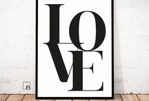   Black and White Wall Art   ★ / such an easy way to style your home ★, art, design, interior, home decoration, wall art, style, inspiration