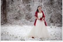 Winter Weddings / Only Mother Nature can create the amazing backdrop of a winter wedding... the crispness in the air, the snow falling on the ground and the serenity of the season.