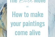 How to make Alive paintings