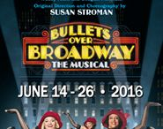 Bullets Over Broadway - June 14-26, '16 / BULLETS OVER BROADWAY is presented by Dallas Summer Musicals June 14-26, 2016 at Music Hall at Fair Park. http://www.dallassummermusicals.org/shows_bullets.shtm / by Dallas Summer Musicals