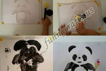 Painting activities for toddlers / Painting for toddlers,homeschooling