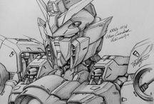 Sketch Gundam