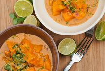 Soups and curries