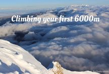 Getting you to the top and the extrems / About mountainering, snow and ice!
