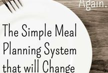 Meal Planning for One / How to plan and budget food when you're not feeding a family; you're just feeding you.