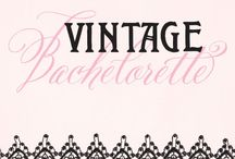 Vintage Bachelorette Party Inspiration / Gorgeous ideas and inspiration for throwing the ultimate vintage bachelorette party or bridal shower. Celebrate in style with adorable invitations, decor ideas, and more.