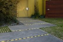 Grass driveways