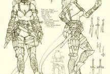 Character sheet/Concept