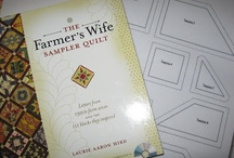 Inspiration for Farmer's Wife Sampler Quilt / Ideas for Farmer's Wife Sampler Quilt.  Piecing hints and tips. / by Jean White