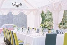 Wedding {green, white, grey}