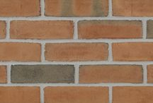 Brick by Color: Pink / Glen-Gery brick comes in a variety of colors! These are all our brick in the pink family of colors!