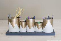 Up-cycled Paint Cans