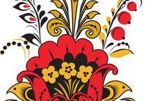 Virág és díszítő motívumok