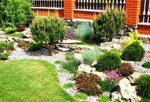 Skalky a zahrada