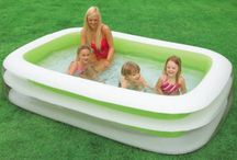 Family Swimming Pool Large Garden Inflatable Kids Play Water Fun Summer Relax