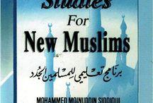 A Program of Studies for New Muslims / Source:  http://waqfeya.com