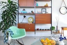 Californian Scandinavian design / Bohemian chic interior, beach house, scandinavian and californian design