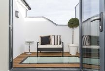 Flat windows for roof decks / Get the most of your flat roof extension by creating a space you can enjoy during the summer days & nights. A walk-on flat roof light will brighten the space below with peace of mind for your safety.