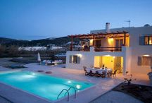 Villa Chris #Paros #Greece #Island /  Chris Villa was built in a quiet farming area , 3 km from Parikia the capital and largest city of the island of Paros. It is a path from the house to the nearby beach of Parasporos 300 meters . http://www.mygreek-villa.com/fr/rent-villa-search-2/villa-chris