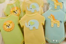 Onesies, Burp Cloths and Bibs OH MY! / by Toni Waller