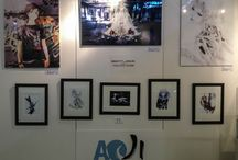 """redjuice exhibitions / """"Beatless Collection"""" & """"The Art Of redjuice"""" exhibited by AOJI Gallery at Japan-Expo 2013 (Paris)"""