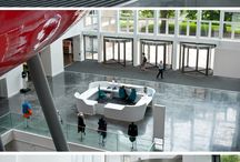 Southampton Solent University - Entrance Matting / Designed by Scott Brownrigg and constructed by Interserve, the new £30m Spark Teaching Building for Southampton Solent University provides state-of-the-art facilities and innovative teaching space.  The INTRAform DM Entrance Matting was installed by GCF Ltd to multiple entrances around the building and is fundamental to keeping the internal floors safe and clean.  Read the Full Case Study Here - https://www.intramatting.com/case-studies/the-spark-building/