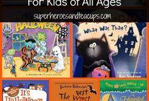 Halloween Learning Ideas / Halloween themed learning ideas for kids.
