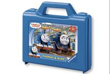 Thomas & Friends Kids Jigsaw Puzzles / Jigsaw Puzzles for children of Thomas the Tank Engine Train and his friends locomotives.