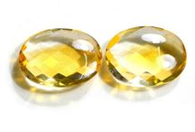 Natural Loose Gemstone Pair / Buy online matching gemstone pairs at wholesale price from ExploreBeads having vast varieties of Gemstones Citrine, Quartz, Bear quartz etc. in different shapes and from different origins.